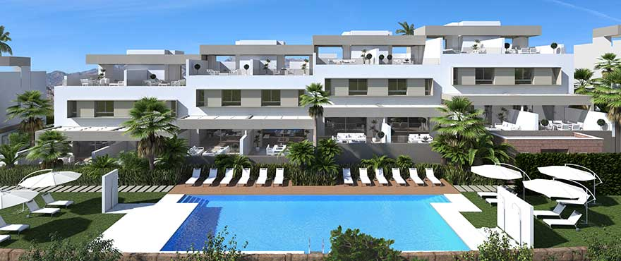 New Build Homes in La Cala Gof Resort