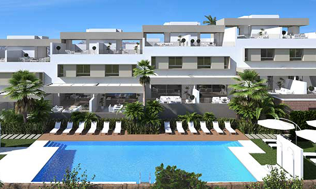 Luxury Finished Apartments in La Cala Golf