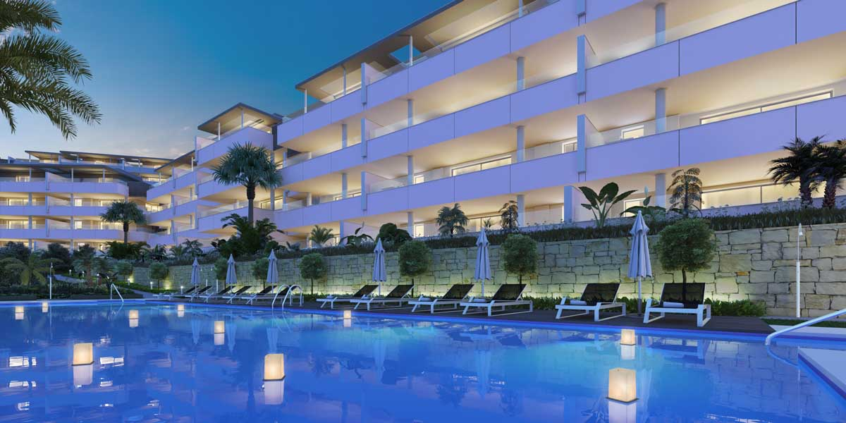 Luxury Large Apartments in Benahavis