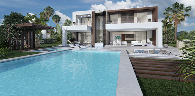 New Luxury villa in Estepona