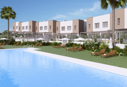 New Townhouses in Estepona
