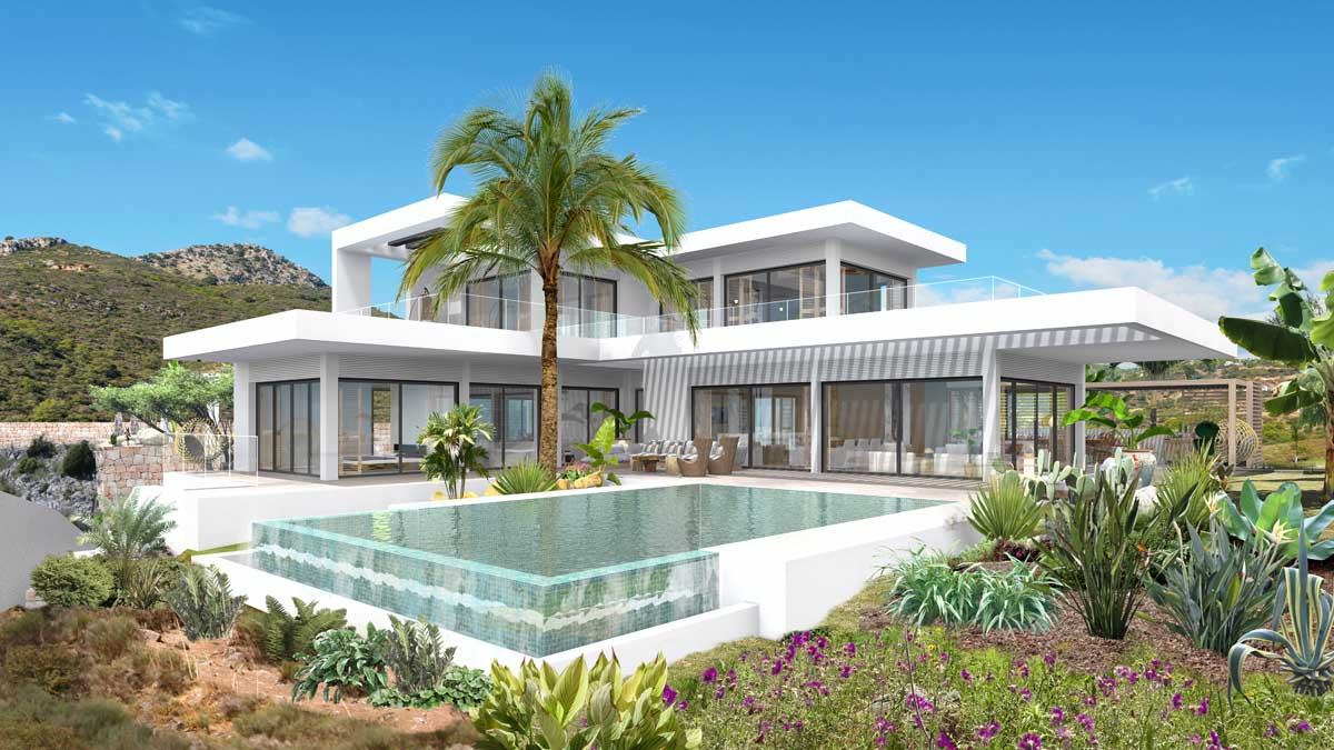 New Exclusive Design Villa In Benahavis