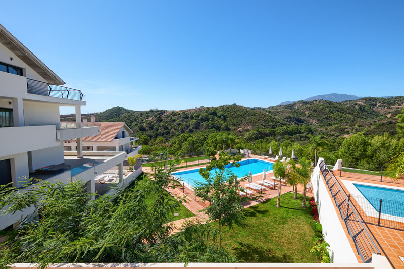 Nicely situated apartment in Selwo, Estepona