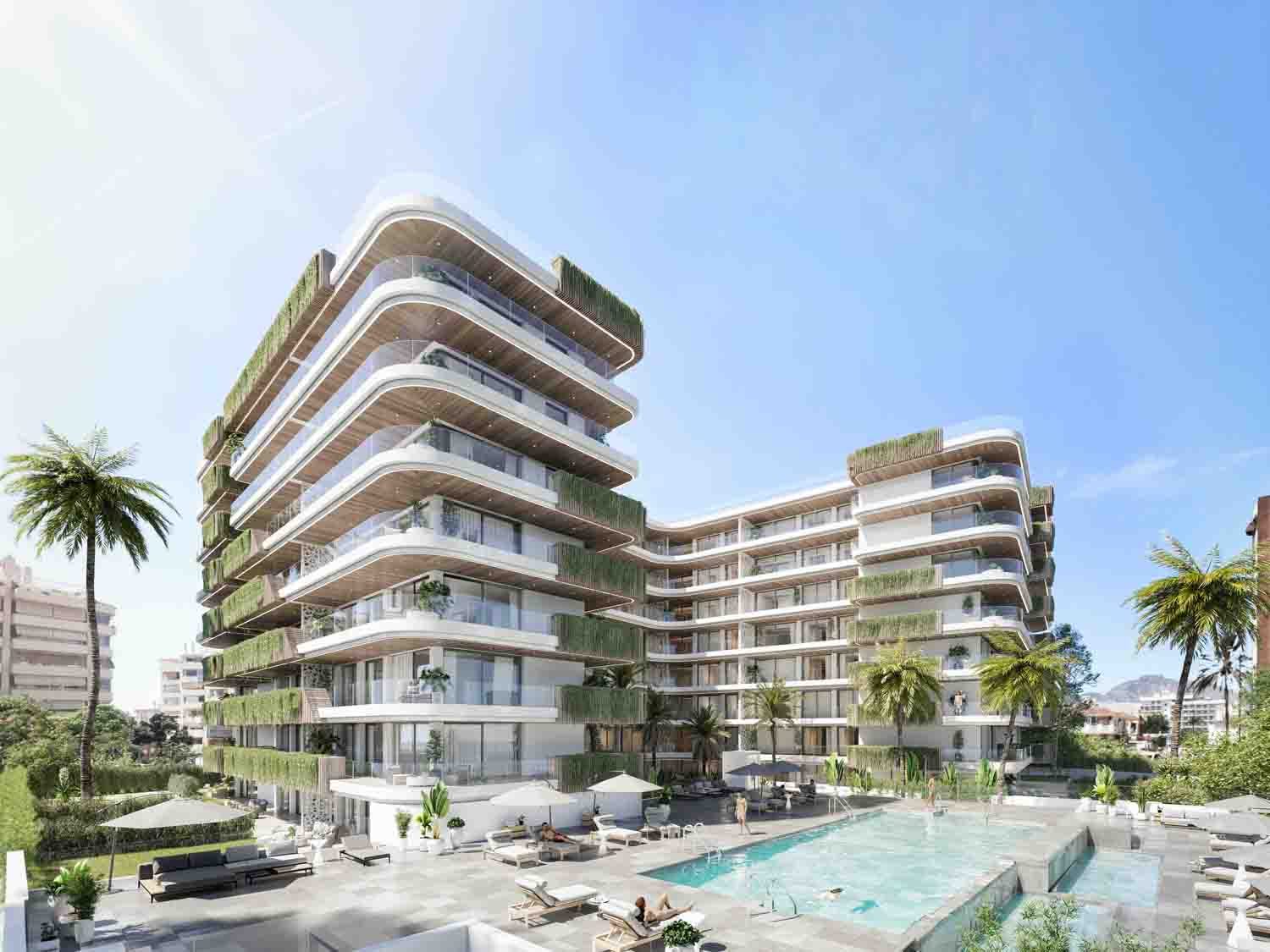 New luxury apartments in Fuengirola