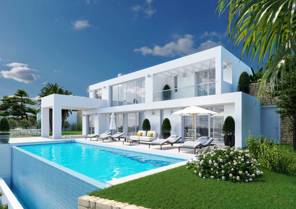 Off plan modern villa in Marbella