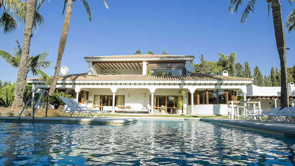 Fantastic villa in Guadalmina Baja